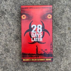 Vintage 28 Days Later VHS Tape